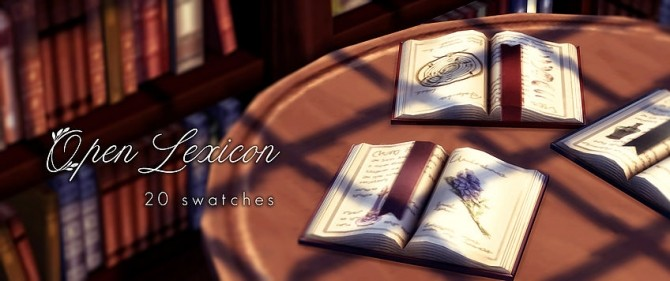 Antique Stacks Book clutter at Magnolian Farewell image 6310 670x281 Sims 4 Updates
