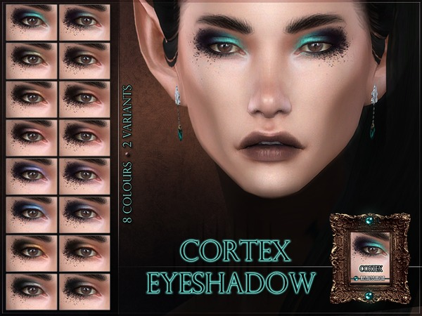 Sims 4 Cortex Eyeshadow by RemusSirion at TSR