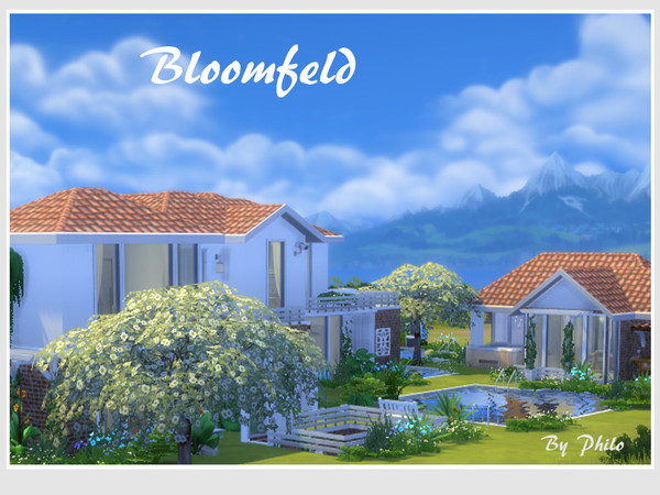 Bloomfeld house by philo at TSR image 639 Sims 4 Updates