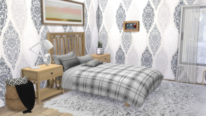Sims 4 PARENTS BEDROOM Newport at MODELSIMS4