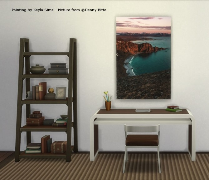 Paintings: Different photographers at Keyla Sims image 646 670x578 Sims 4 Updates