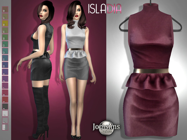 Isladia outfit by jomsims at TSR image 648 Sims 4 Updates
