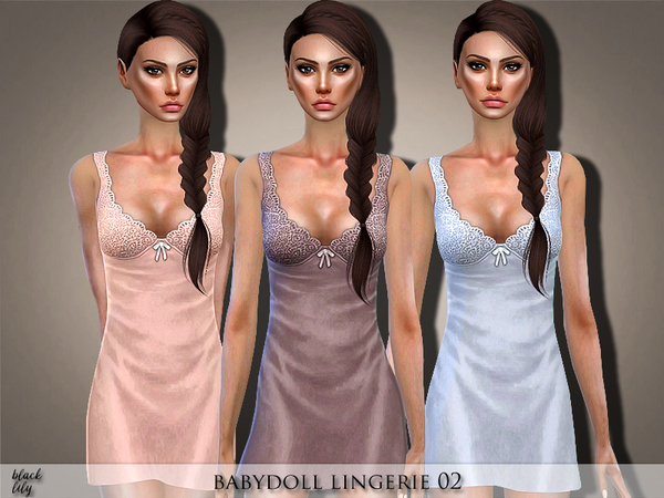 Sims 4 Babydoll 02 by Black Lily at TSR