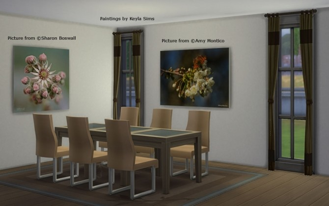 Paintings: Different photographers at Keyla Sims image 656 670x420 Sims 4 Updates
