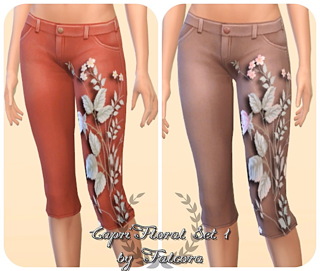Capri Flora Set 10x at Petka Falcora image 6610 Sims 4 Updates