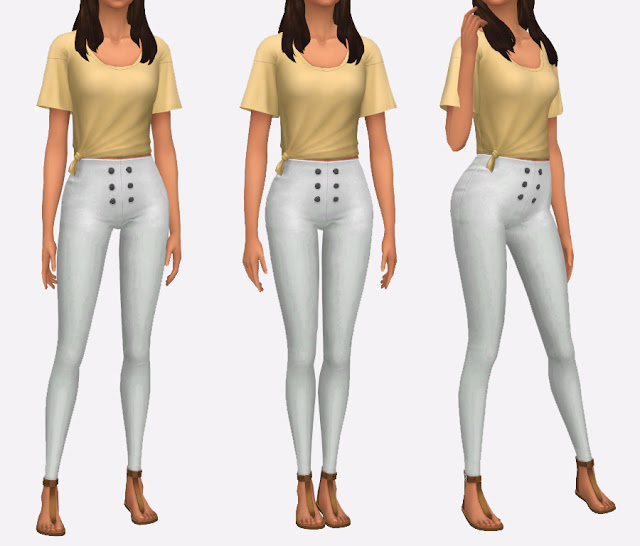 High Waisted Pants at Simista image 663 Sims 4 Updates
