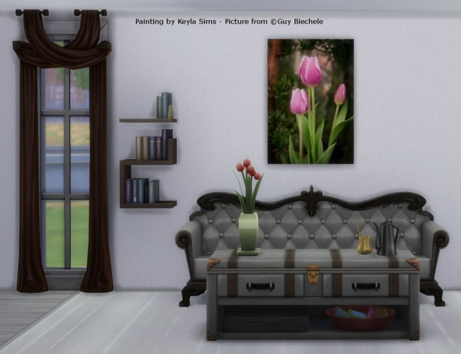 Paintings: Different photographers at Keyla Sims image 666 670x514 Sims 4 Updates