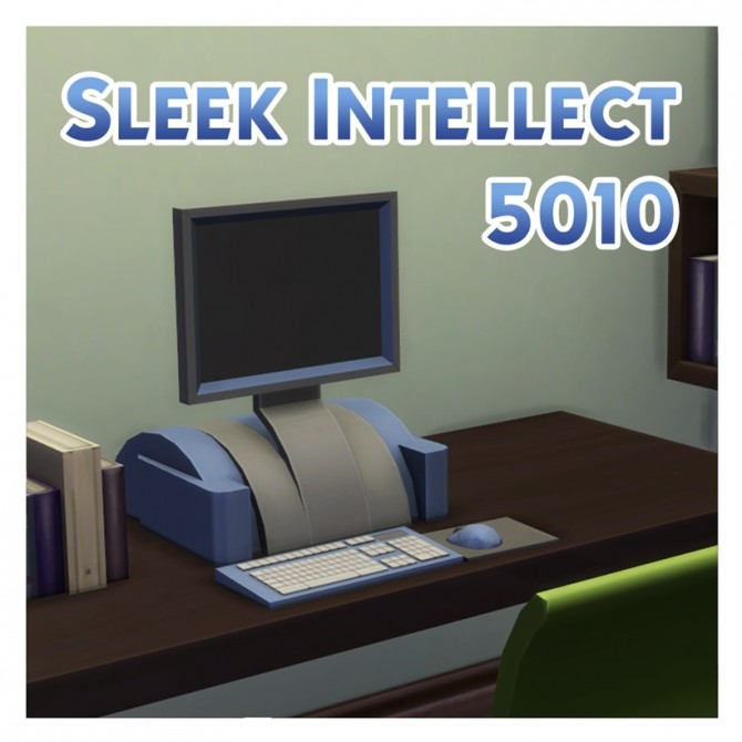 Sims 4 TS3 > TS4 Sleek Intellect 5010 PC Conversion by Menaceman44 at Mod The Sims