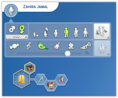 Zahira Jamal by Angerouge at Studio Sims Creation image 669 Sims 4 Updates
