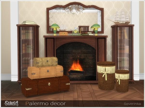 Palermo decor by Severinka at TSR image 6718 Sims 4 Updates