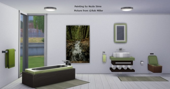 Paintings: Different photographers at Keyla Sims image 675 670x351 Sims 4 Updates