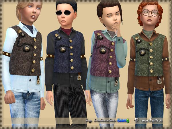 Sims 4 Steampunk Shirt by bukovka at TSR