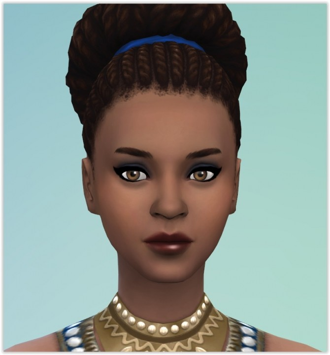 Zahira Jamal by Angerouge at Studio Sims Creation image 689 670x720 Sims 4 Updates