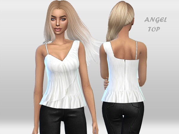 Angel Top by Puresim at TSR image 6910 Sims 4 Updates