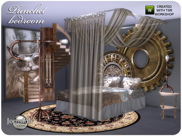 Punchet bedroom by jomsims at TSR image 696 Sims 4 Updates