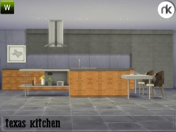 Texas Kitchen at Nikadema Designs image 705 670x503 Sims 4 Updates