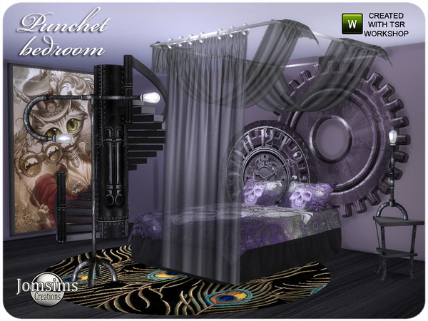 Punchet bedroom by jomsims at TSR image 7061 Sims 4 Updates