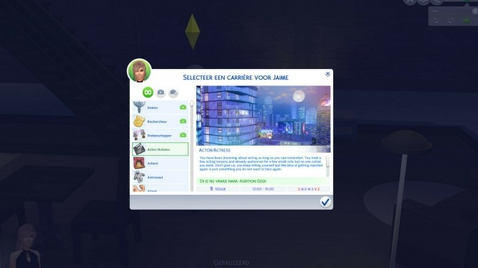Actor/Actress Career by xTheLittleCreator at Mod The Sims image 707 670x377 Sims 4 Updates
