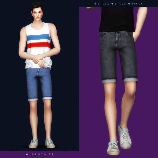 Sims 4 M. Pants 07 at Gorilla