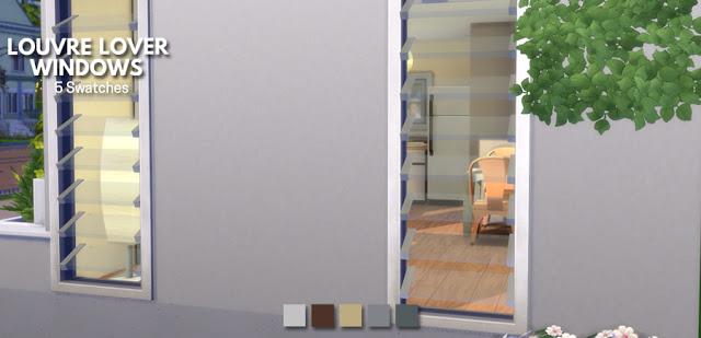 Sims 4 Louvre Lover Windows at Simlish Designs
