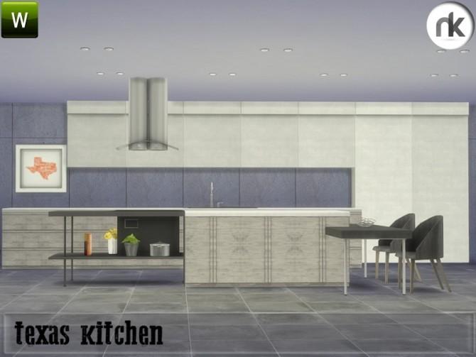 Texas Kitchen at Nikadema Designs image 719 670x503 Sims 4 Updates