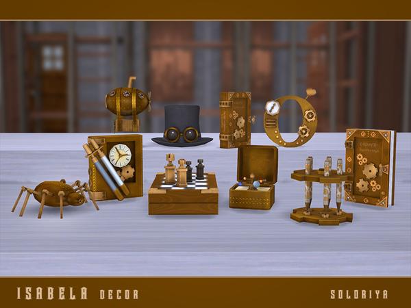 Isabela Decor set by soloriya at TSR image 72 Sims 4 Updates