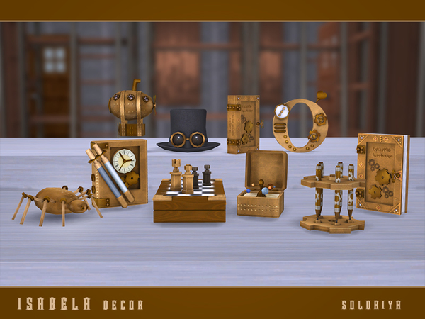 Isabela Decor set by soloriya at TSR image 73 Sims 4 Updates