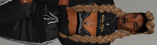 STUN HAIR by Thiago Mitchell at REDHEADSIMS image 7313 670x192 Sims 4 Updates