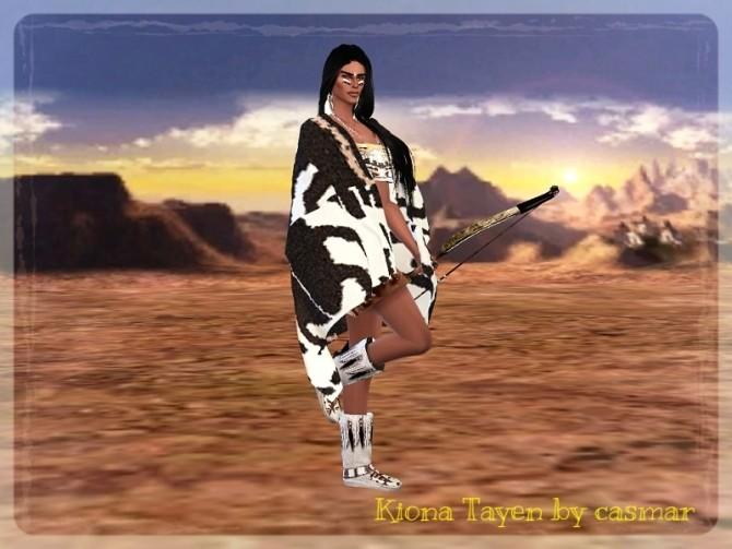Sims 4 KIONA TAYEN at Casmar Sims4