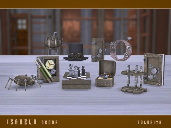 Isabela Decor set by soloriya at TSR image 74 Sims 4 Updates