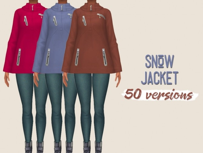 Sims 4 Snow jacket at Midnightskysims
