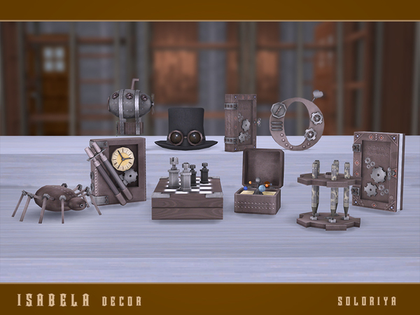 Isabela Decor set by soloriya at TSR image 75 Sims 4 Updates