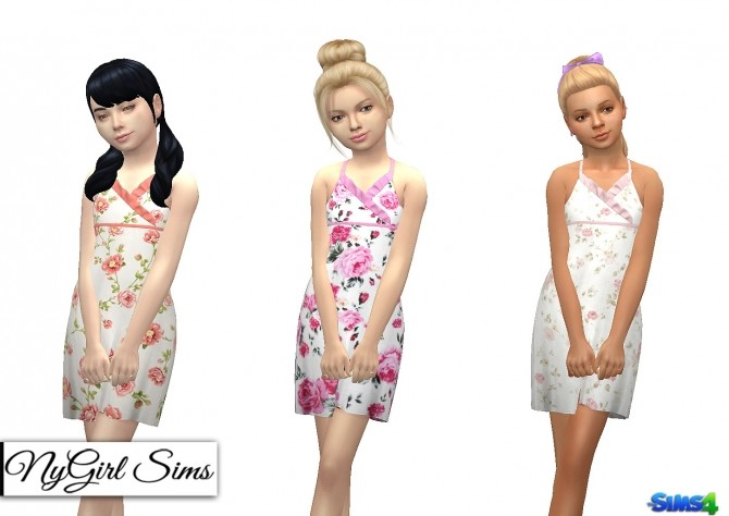 Asymmetrical Ruffle Sundress at NyGirl Sims image 759 670x474 Sims 4 Updates