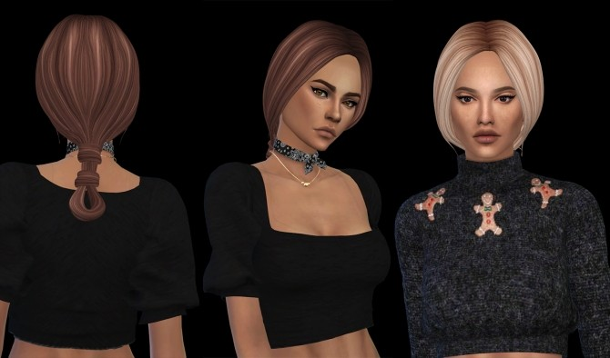 Riley hair (P) at Leo Sims image 7610 670x394 Sims 4 Updates