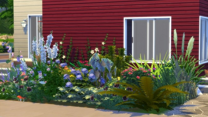 Sims 4 GARDEN Newport at MODELSIMS4