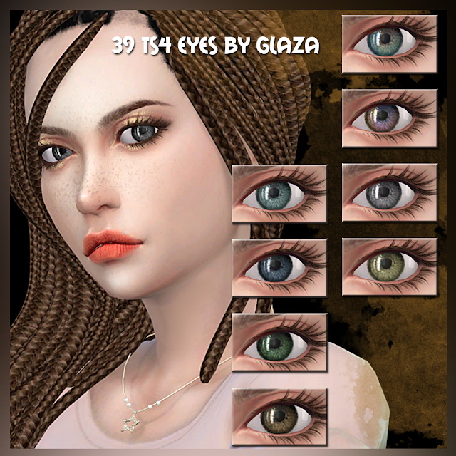 Sims 4 Eyes 39 at All by Glaza