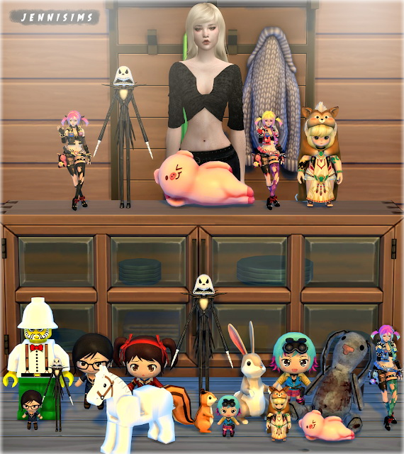 Sims 4 Kids deco set 12 Items at Jenni Sims