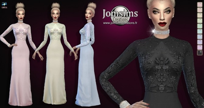 Zelwes dress at Jomsims Creations image 7817 670x355 Sims 4 Updates