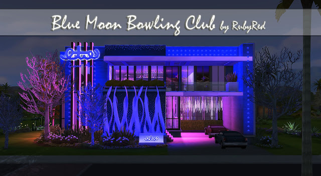 Blue Moon Bowling Club at Ruby's Home Design image 786 Sims 4 Updates