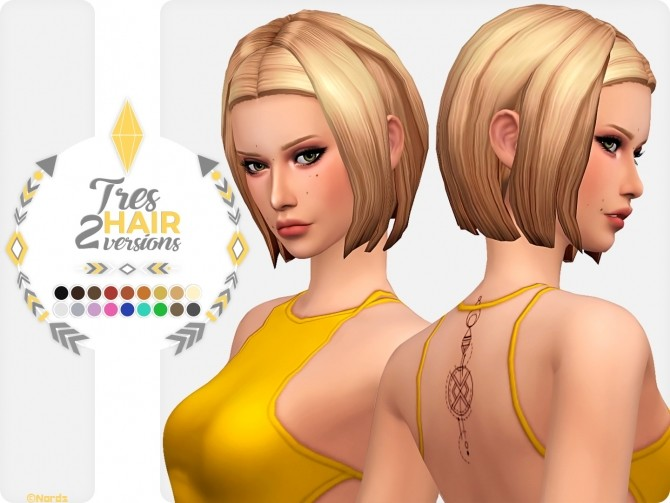 Tres Hair at Nords Sims image 789 670x503 Sims 4 Updates