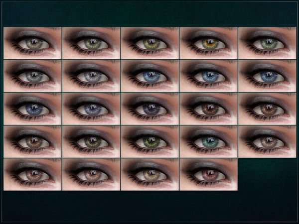 Sims 4 Formation Eyes by RemusSirion at TSR