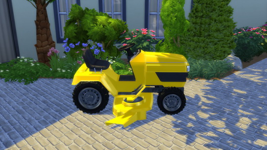 Garden Mower at OceanRAZR image 793 Sims 4 Updates