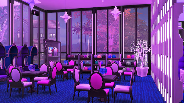 Sims 4 Blue Moon Bowling Club at Ruby's Home Design