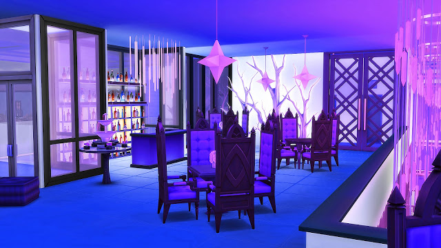 Blue Moon Bowling Club at Ruby's Home Design image 8110 Sims 4 Updates