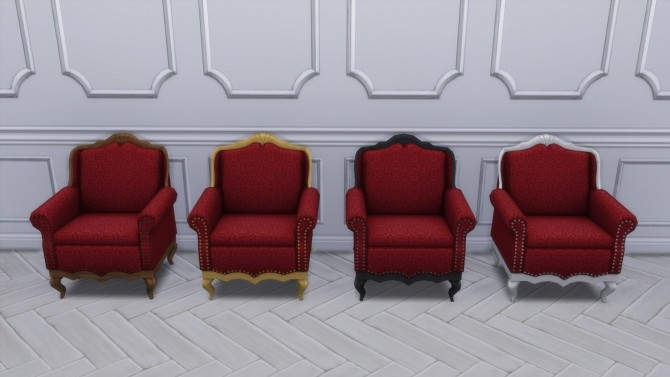 Gothic Ranch Living Chair & Loveseat by TheJim07 at Mod The Sims image 8111 670x377 Sims 4 Updates