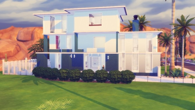 Roselyn house at Simming With Mary image 813 670x377 Sims 4 Updates
