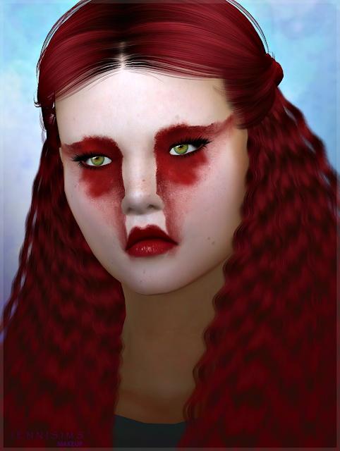 EyeShadow Kabuki Red at Jenni Sims image 8216 Sims 4 Updates