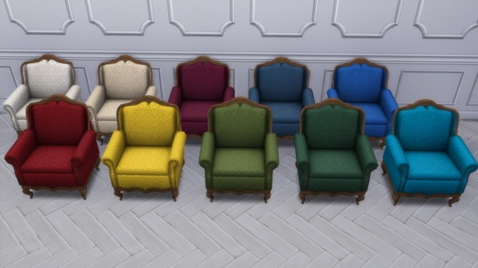 Gothic Ranch Living Chair & Loveseat by TheJim07 at Mod The Sims image 829 670x377 Sims 4 Updates