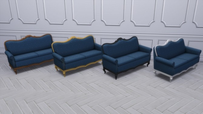 Gothic Ranch Living Chair & Loveseat by TheJim07 at Mod The Sims image 837 670x377 Sims 4 Updates