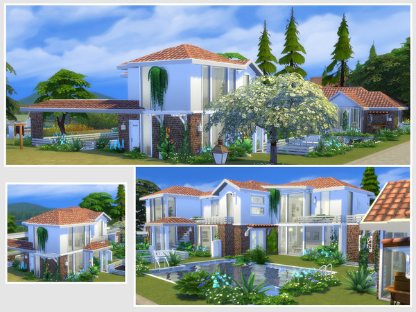 Bloomfeld house by philo at TSR image 839 Sims 4 Updates